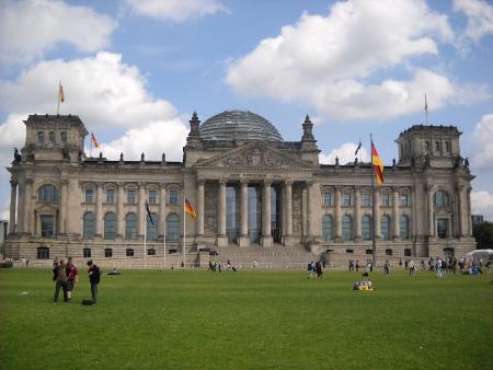 Reichstag, the Parliament Bundestag in Berlin: Besuch ...